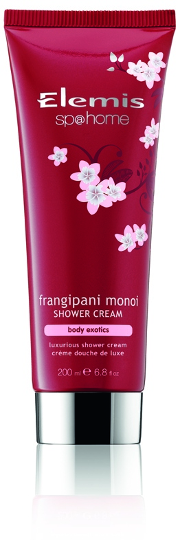 Frangipani Monoi Shower Cream (Limited Edition). Product Image. JPEG.