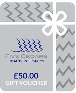 £50 beauty salon gift voucher