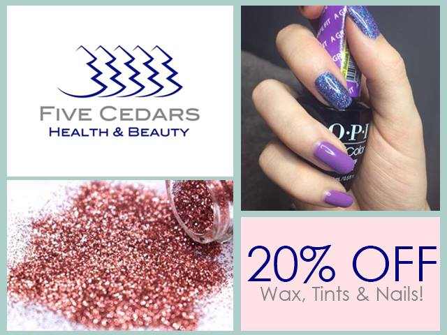 Nails waxing tinting offer