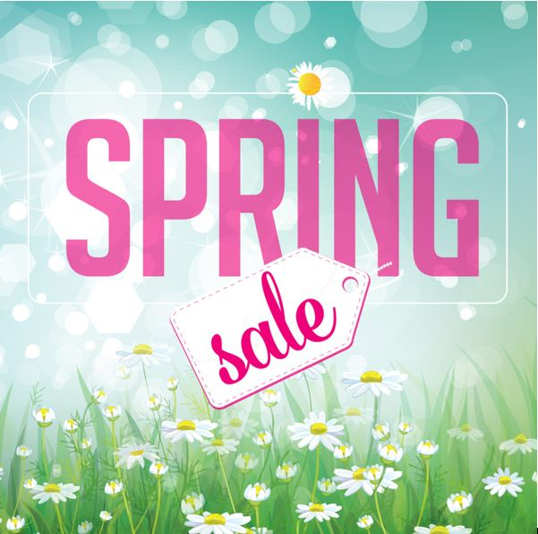 Spring sale at Five Cedars Beauty Salon Tiverton