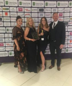 Exeter living awards best hair & Beauty salon