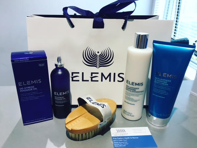 elemis body products at our mid devon tiverton beauty salon retreat spa