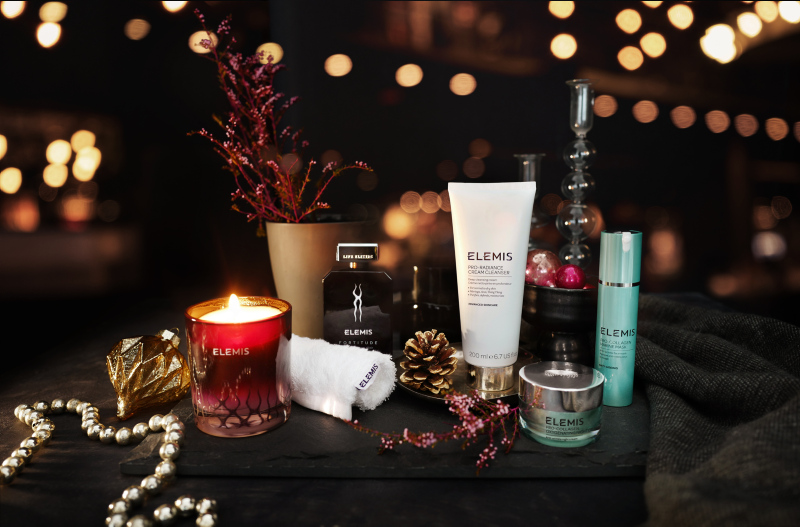 elemis christmas gifts at salon in tiverton devon