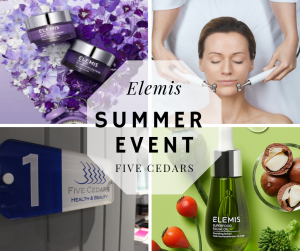 elemis beauty salon tiverton skincare mid devon middevon waxing nails tanning massage reflexology
