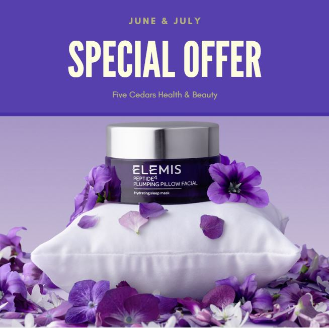 facial elemis massage lashes nails skincare beauty salon spa retreat
