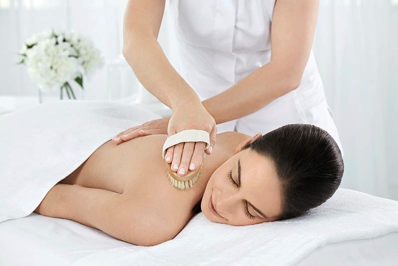 elemis flower detox spa wrap massage