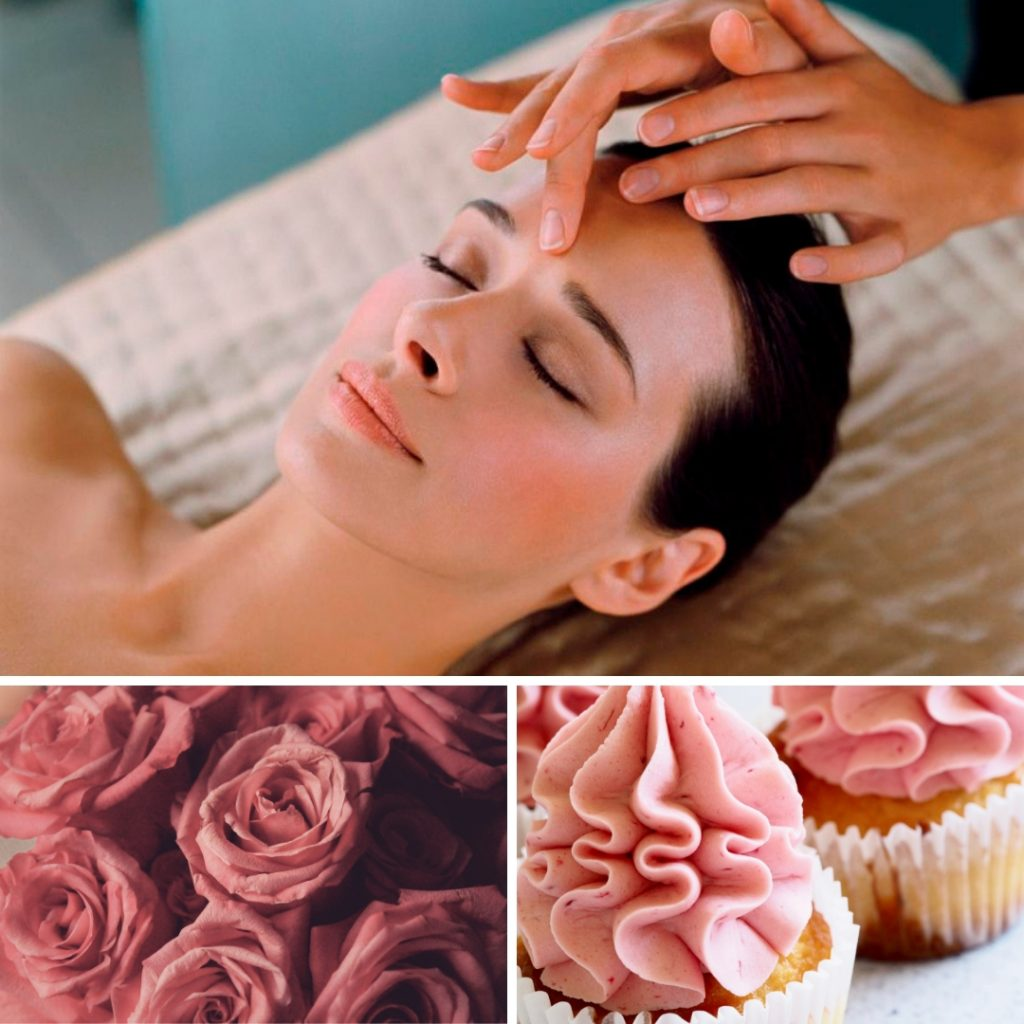 elemis massage facial spa nails lashes tan brows open day coffee morning