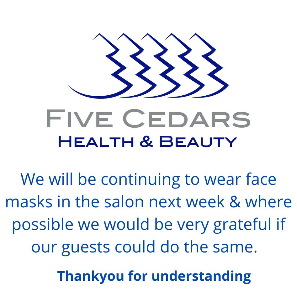 beauty salon tiverton face mask policy